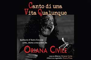 Oriana Civile - Canto di una Vita Qualunque